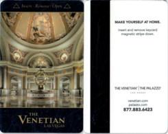 The Venetian THE GOLD ANGEL 2 Black-1255-----key Card, Room Key, Schlusselkarte, Hotelkarte - Chiavi Elettroniche Di Alberghi