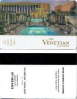 The Venetian13933-1883 ------key Card, Room Key, Schlusselkarte, Hotelkarte - Cartas De Hotels