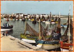 """29 LE GUILVINEC Finistere  """"  Chalutiers Dans Le Port """"   CPSM  Num 28  Postée Le 1 7 1963  NOMBREUX BATEAUX - Guilvinec"""