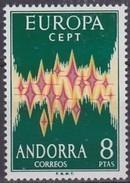 Cept 1972 Andorra Andorre Espagnole Yvertnr. 64A *** MNH Cote 135 Euro - Europa-CEPT