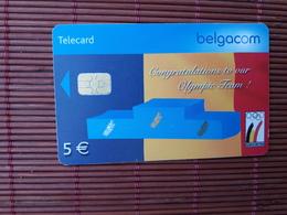 Phonecard Olympic Team Belgium  Used - Belgique