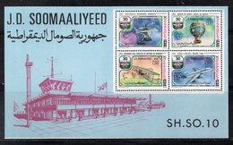 ETP408 - SOMALIA 1977 , Souvenir Sheet  ***  30mo ICAO OACI - Somalia (1960-...)