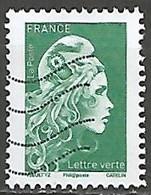 FRANCE N° 5252 OBLITERE - 2018-... Marianne L'Engagée