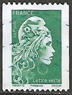 FRANCE N° 5255 OBLITERE - 2018-... Marianne L'Engagée