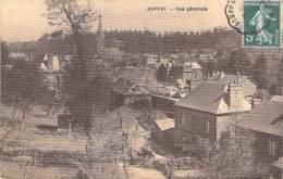 "76 - AUFFAY Vue Générale - Jolie CPA Village (1.880 Habitants) "" Cartonnée "" - Seine Maritime - Auffay"