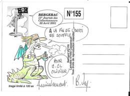 DEDICACE ORIGINALE...DE BERNARD VEYRI.....CYRANO..BERGERAC.2001  TIRAGE  100EXPL - Veyri, Bernard