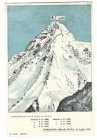 1604 - FIERA INTERNAZIONALE DI TRIESTE GIORNATA DEL K2 ALPINISMO 1955 CAI - Mountaineering, Alpinism