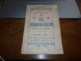 Marchienne Au Pont Programme Des Marchinoiseries Avril 1899  Nombreuses Pubs Locales - Publicités
