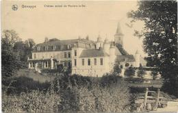 Genappe  *   Chateau Actuel De Houtain-le-Val - Genappe