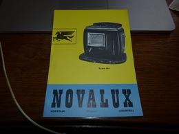 Pub Poêlerie Novalux Kortrijk Courtrai - Publicidad