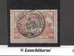 REF44/ TR35 C.St.Georges - Sur-Meuse 9 Avril 1910 - Chemins De Fer