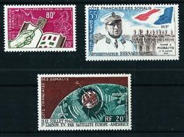 Costa De Somalia (3 Series) Nuevo Cat.13,60€ - Costa Francesa De Somalia (1894-1967)