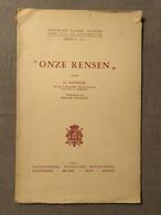 """Koninklijke Vlaamse Academie Voor Taal- En Letterkunde 1950, """"Onze Rensen"""" - Ontwikkeling"""