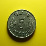 Iceland 5 Kronur 1976 - Island