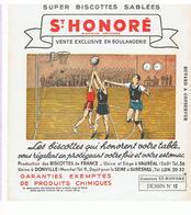 Buvard Biscotte Série Sport Basket Ball Buvard N°12 - Zwieback