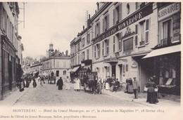 MONTEREAU - Hôtel Du Grand Monarque, Au 1°, La Chambe De Napoléon I°, 18 Février 1814 - Montereau