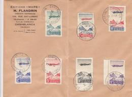LETTRE MAROC. 20 NOV 44. PA N° 50-56  /  6000 - Maroc (1891-1956)
