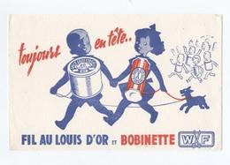 FILS A COUDRE --FIL AU LOUIS D'OR ET BOBINETTE WF  -- Z903 - Textilos & Vestidos
