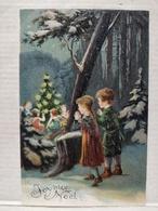 Noël. Gaufrée - Weihnachten