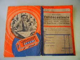 Pochette 7 Photos Côte Belge Avec Négatifs 1945 - Jeux - Vandecasteel Coxyde - Luoghi