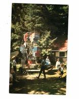 BRACEBRIDGE, Ontario, Canada, Ferris Wheel, Santa's Village, Old Chrome Postcard, Muskoka County - Ontario