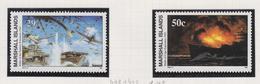Marshall-eilanden Michel-cat  Jaar 1992 438+443  **/MNH - Marshalleilanden