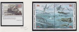 Marshall-eilanden Michel-cat  Jaar 1993 453+454/457(blok Van 4)  **/MNH - Marshalleilanden
