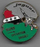 Opération DAGUET - Jaguar - Insigne  Boussemart - Armée De Terre
