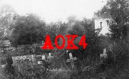 VOGESEN VOSGES Ban De Sapt SENONES Cimetiere Allemand Landwehr Infanterie Regiment 80 99 1915 - Guerre 1914-18