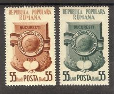 ROMANIA Sport(table Tennis) Set 2 Stamps  MLH - Francobolli