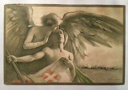 30071 Ai Valorosi Feriti In Guerra - Guerra 1914-18
