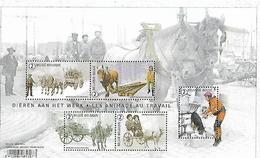 Belg. 2019 - COB N° BL 271 ** - Les Animaux Au Travail (timbres 4832 à 4836) - Ongebruikt