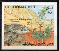 ETP418  - SOMALIA 1982 , Souvenir Sheet BF N. 12 (Michel 13) ***  Serpente - Somalia (1960-...)