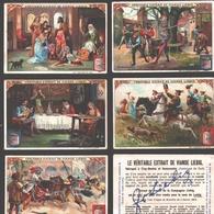 Liebig - Vintage Chromos - Series Of 6 / Série Complète - La Vie Au Manoir - En Français - Liebig