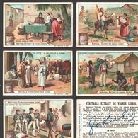 Liebig - Vintage Chromos - Series Of 6 / Série Complète - La Lettre - En Français - Liebig