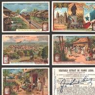 Liebig - Vintage Chromos - Series Of 6 / Série Complète - Au Panama - En Français - Liebig