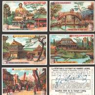 Liebig - Vintage Chromos - Series Of 6 / Série Complète - Au Japon - En Français - Japan - Liebig
