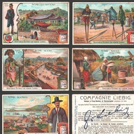 Liebig - Vintage Chromos - Series Of 6 / Série Complète - En Corée - En Français - Korea - Liebig