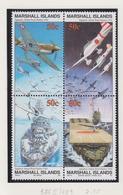 Marshall-eilanden Michel-cat  Jaar 1991 386II/389 Blok Van 4 Verbeterde Versie **/MNH - Marshalleilanden