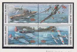 Marshall-eilanden Michel-cat  Jaar 1992 415II/418II Blok Van 4 Verbeterde Versie **/MNH - Marshalleilanden