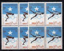 QUS - SOMALIA 1964 ,  Yvert N. 33/34  In Fresca Quartina ***  MNH (2380A) Olimpiadi Tkyo - Somalia (1960-...)