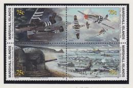 Marshall-eilanden Michel-cat  Jaar 1994 517II/520 Blok Van 4 Verbeterde Versie **/MNH - Marshalleilanden