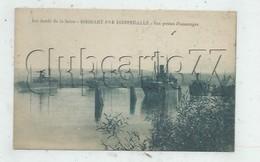 Saint-Vaast-Dieppedalle (76) : Cargos à L'amarage à Biessart En 1930  PF. - Francia