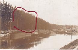 ( 59 ) -  Cambrai Schelde-Kanal Carte Photo Allemande 1° Guerre - Cambrai