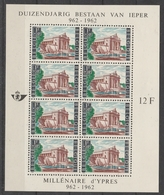Blok 33 Ieper ** - Blocks & Kleinbögen 1962-....