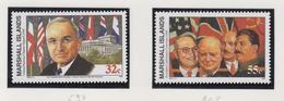 Marshall-eilanden Michel-cat  Jaar 1995 597+607 **/MNH - Marshalleilanden