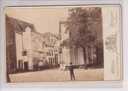 M BOSSE PHOTOGR V Z M D KONING DEVENTER EN APELDOORN  HOLLAND NEDERLAND 16*10CM ALBUMEN Cabinet  Photograph - Foto's