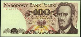 POLAND - 100 Zlotych 01.06.1982 {Narodowy Bank Polski} AU-UNC P.143 D - Polen