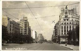 Romania, BUCHAREST BUCURESTI, Bulevardul Ion C. Brătianu (1937) RPPC Postcard - Roemenië