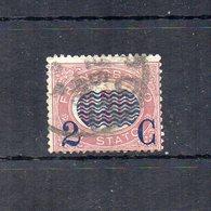 Italia - 1878 - Sovrastampa 2 C E Linee Ondulate Su Francobolli Di Servizio Del 1875 - 2 C Su 0,20 - Usato - (FDC18691) - Dienstpost